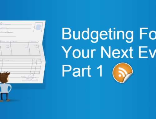 Budgeting For Your Next Event Part 1