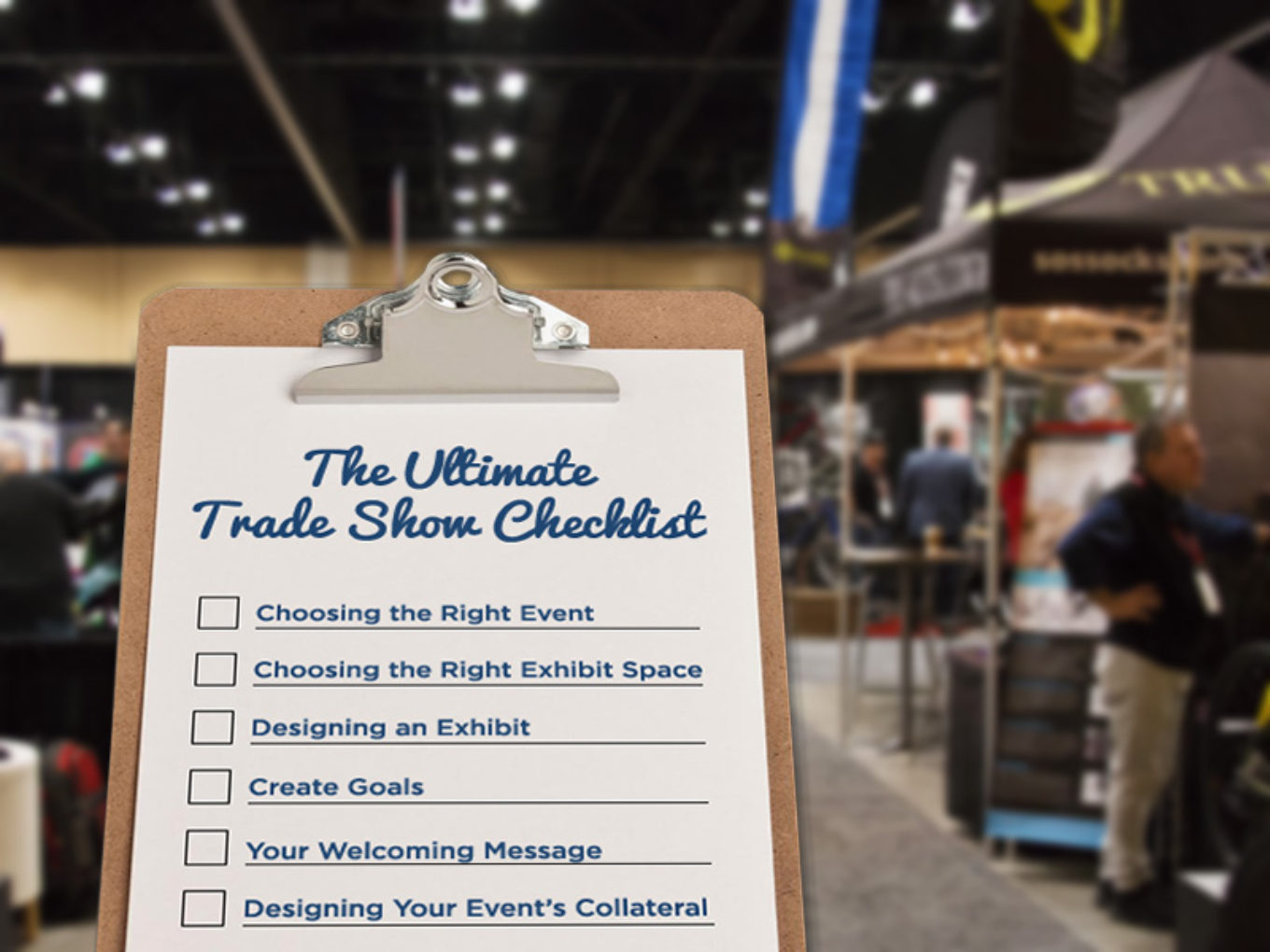 Exhibition Booth Checklist : The ultimate trade show checklist sourceone events